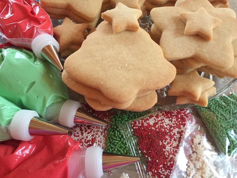 Christmas Cookie Decorating Kit.Cookie Decorating Christmas Party Kit Cookies From Scratch