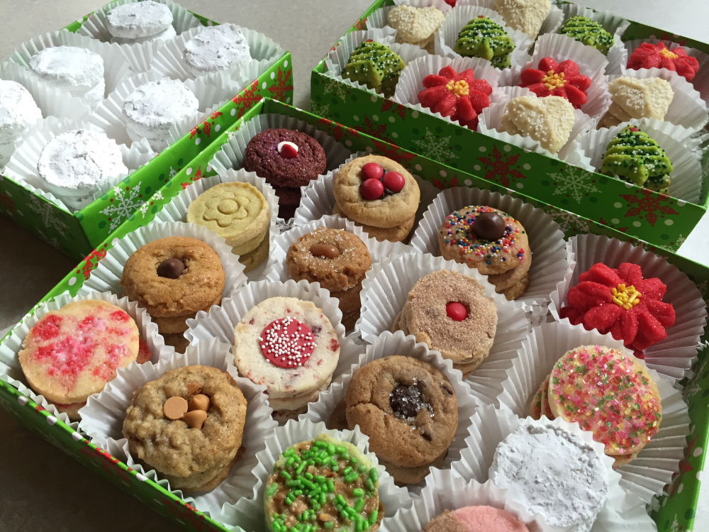 Cookie Tower Trio Gift Box S For Sale Online For Christmas Weddings